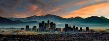 Los Angeles Skyline Sunrise