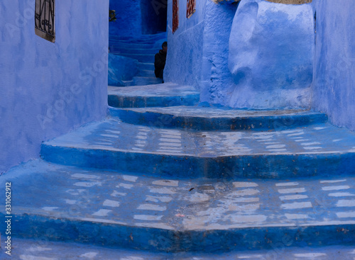 Blue Steps, Chefchaouen, Morocco