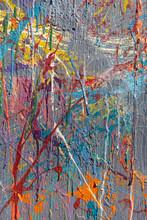 Colorful Graffiti Paint Splatt...