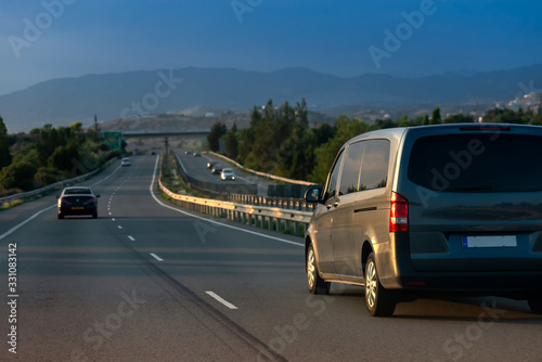 Photo The A1 motorway, locally referred to as the Nicosia-Limassol highway