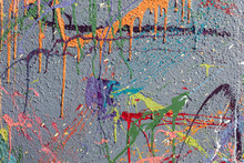 Colorful Graffiti Paint Splatt...