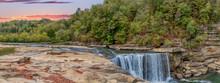 Cumberland Falls In Autumn
