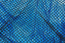 Detail Of Commercial Fish Net ...