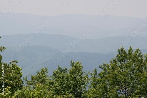 Allegheny Mountains, West Virginia Wallpaper Mural
