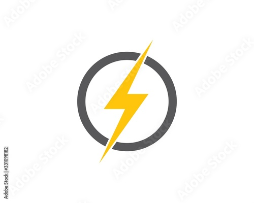 Obraz flash power of energy and electric illustration - fototapety do salonu