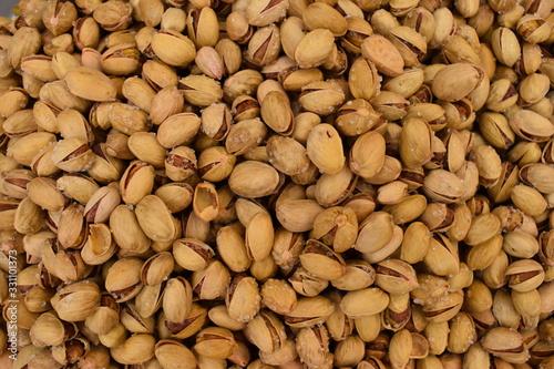 Photo gesalzene Pistazien arabischer Gewürzmarkt