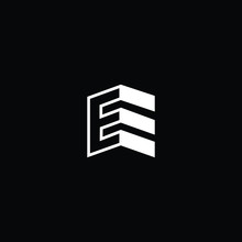 Logo Design Of E In Vector For...