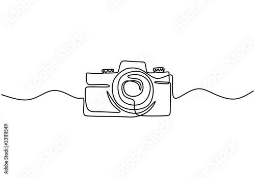 Fotografia One line digital camera design