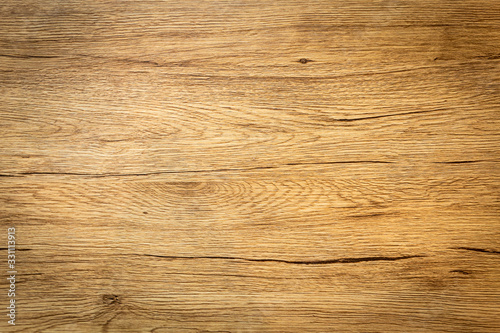 Obraz Closeup of texture table wood dark background. Copy space - fototapety do salonu