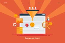 Conversion Funnel, Digital Mar...