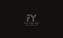 FY Or YF Letter Logo. Unique A...