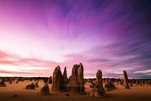 The Pinnacles In Western Austr...