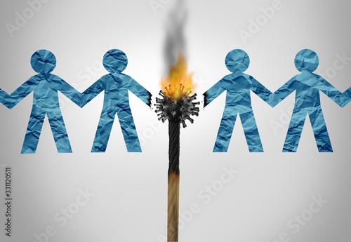 Social Distancing Concept - 331120511