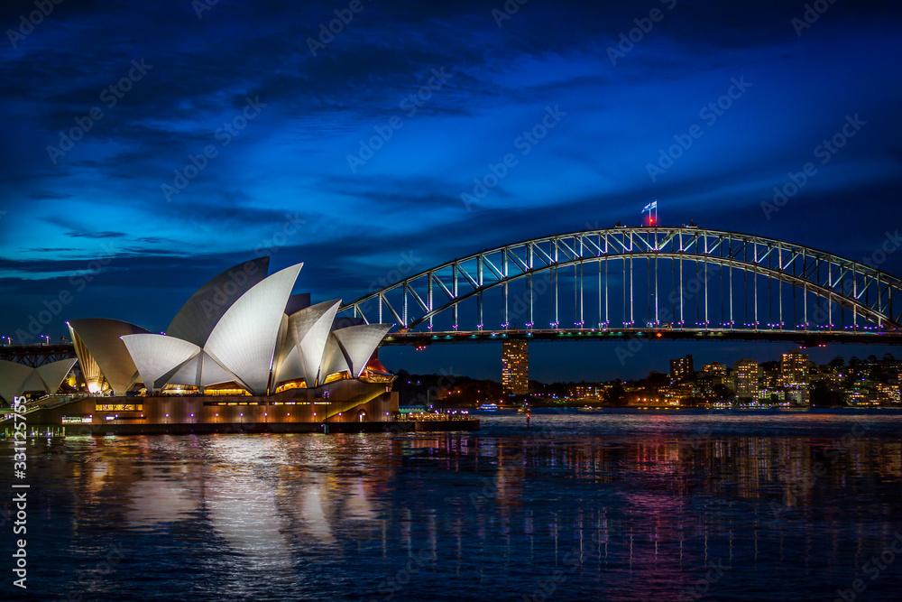 Fototapeta Sydney Ultimate Skyline