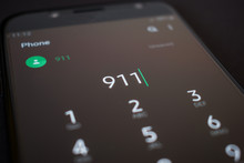 Emergency 911 Call On Smartpho...