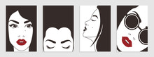 Ackgrounds With Female Faces....