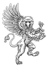 A Griffin Also Known As A Gryp...