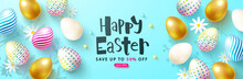 Happy Easter Sale Card Withcol...