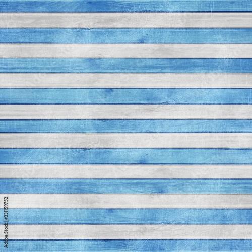 Blue Grunge Nautical Marine Striped Wood Background