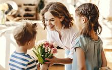 Little Children Congratulating...