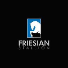 Friesian Stallion Logo, With J...