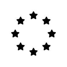 Stars Circle, European Union. ...