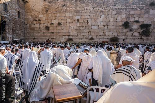 Fototapeta Blessing of the Cohen in Passover obraz