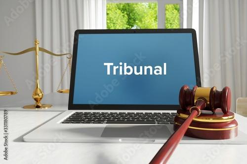 Obraz na plátně Tribunal – Law, Judgment, Web