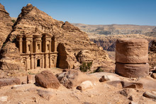 View On The Monastery Of Petra...