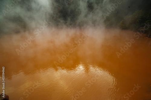 血の池地獄 Fototapet