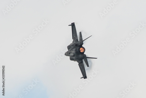 Αφίσα Lockheed Martin F-35B flying for display