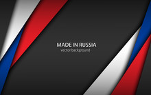 Made In Russia, Modern Vector ...