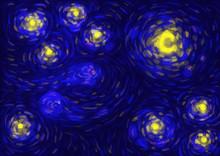 Stylized Starry Night
