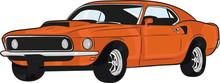 Vartoon Car,muscle Car,fast, S...