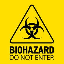 Biohazard Sign. Danger Symbol....