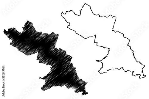 Valka Municipality (Republic of Latvia, Administrative divisions of Latvia, Muni Canvas Print