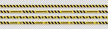 Strips Of Quarantine. Warning ...