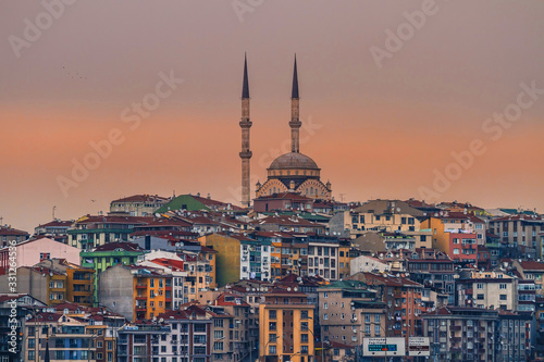 Stampa su Tela Istanbul city travel and tourism in Turkey