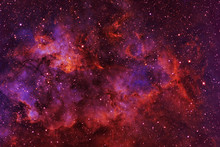 Beautiful Galaxy Of Red Color ...