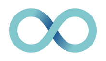 Abstract Infinity Sign. Infini...