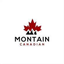 Canadian Mountain Logo Design .