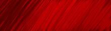 Rot Schwarz - Wandbild Rissige...