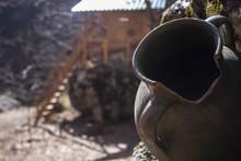 Old Clay Vase