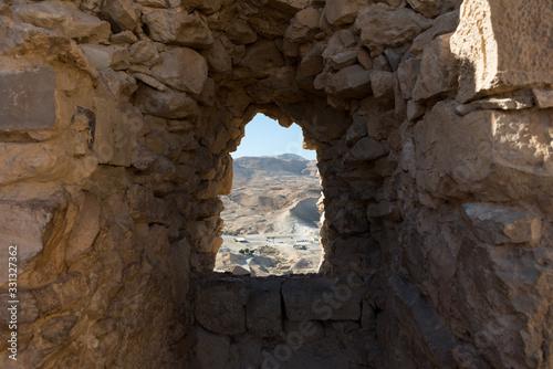 Obraz Masada National Park at Southern Israel - fototapety do salonu