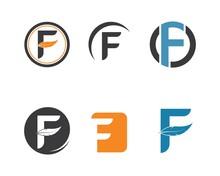 F  Letter Logo Icon Illustration Vector