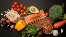 Top View Of Healthy Food Assor...