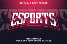 Esport Text Style Effect Premi...