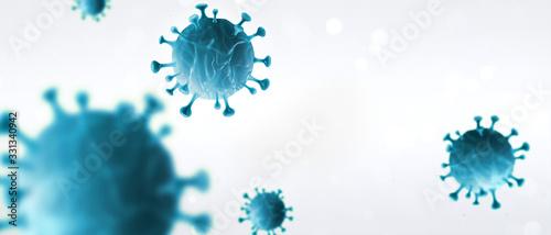 Cuadros en Lienzo Epidemie 2019-nCoV