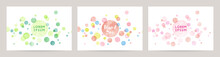 Watercolor Colorful Dot Vector...