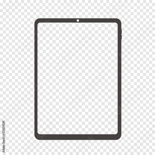 Fototapeta smartphone tablet vector illustration obraz na płótnie